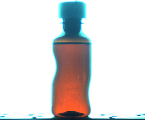 Deformed bottle