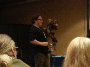 Toby Froud Puppet Demonstration